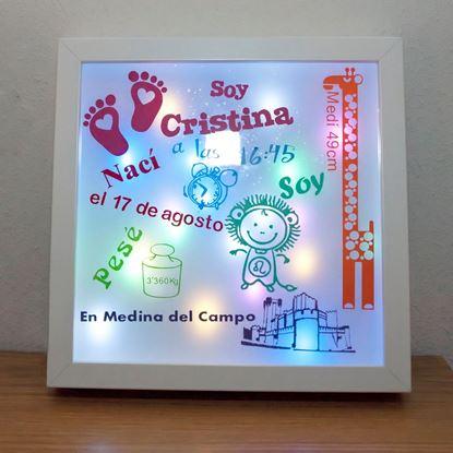 Foto de Caja de Luz Recién Nacido